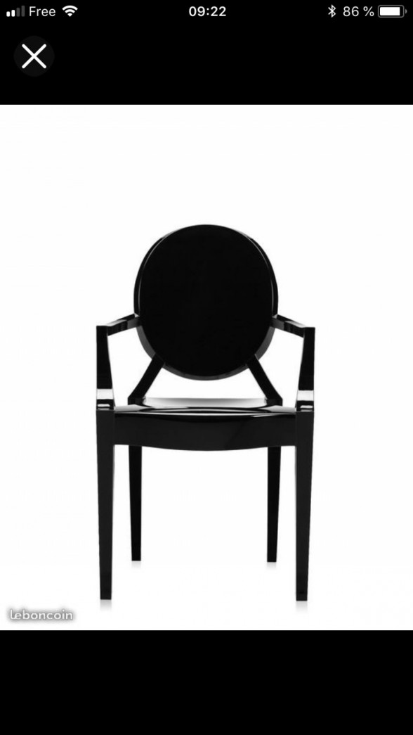 amazing louis ghost with le bon coin lampe kartell. Black Bedroom Furniture Sets. Home Design Ideas