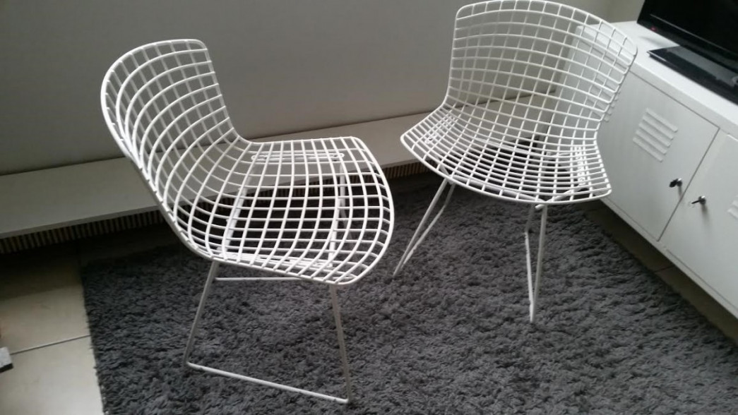 Bertoia 420c knoll international bertoia for Bertoia chaise prix