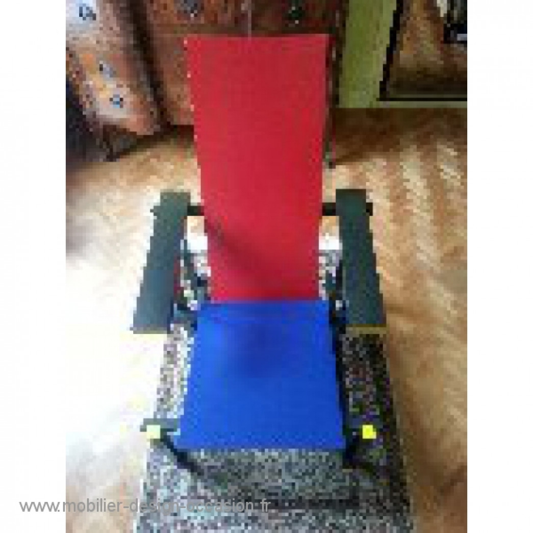 RED AND BLUE ,Cassina,Gerrit Thomas Rietveld