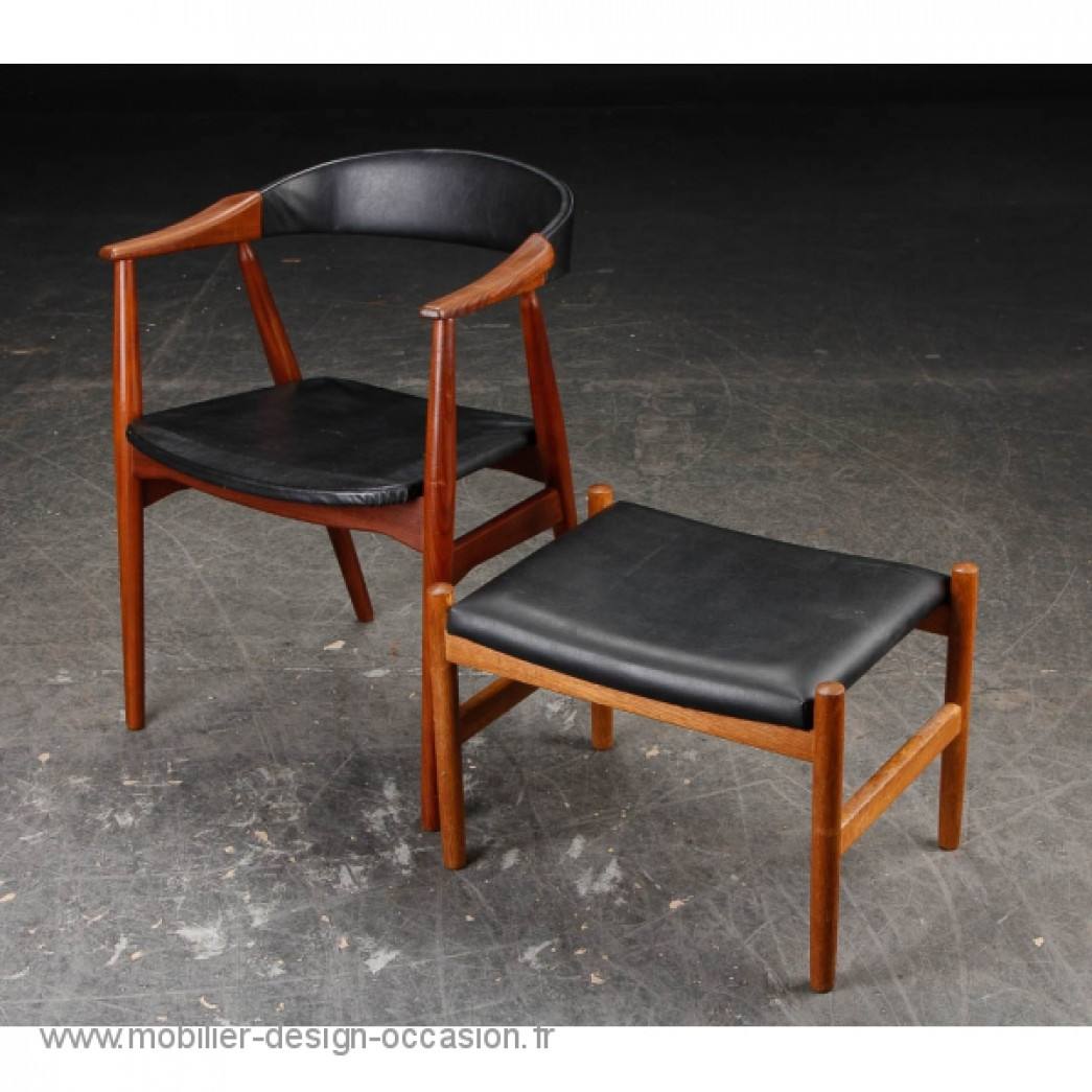chaise scandinave vintage