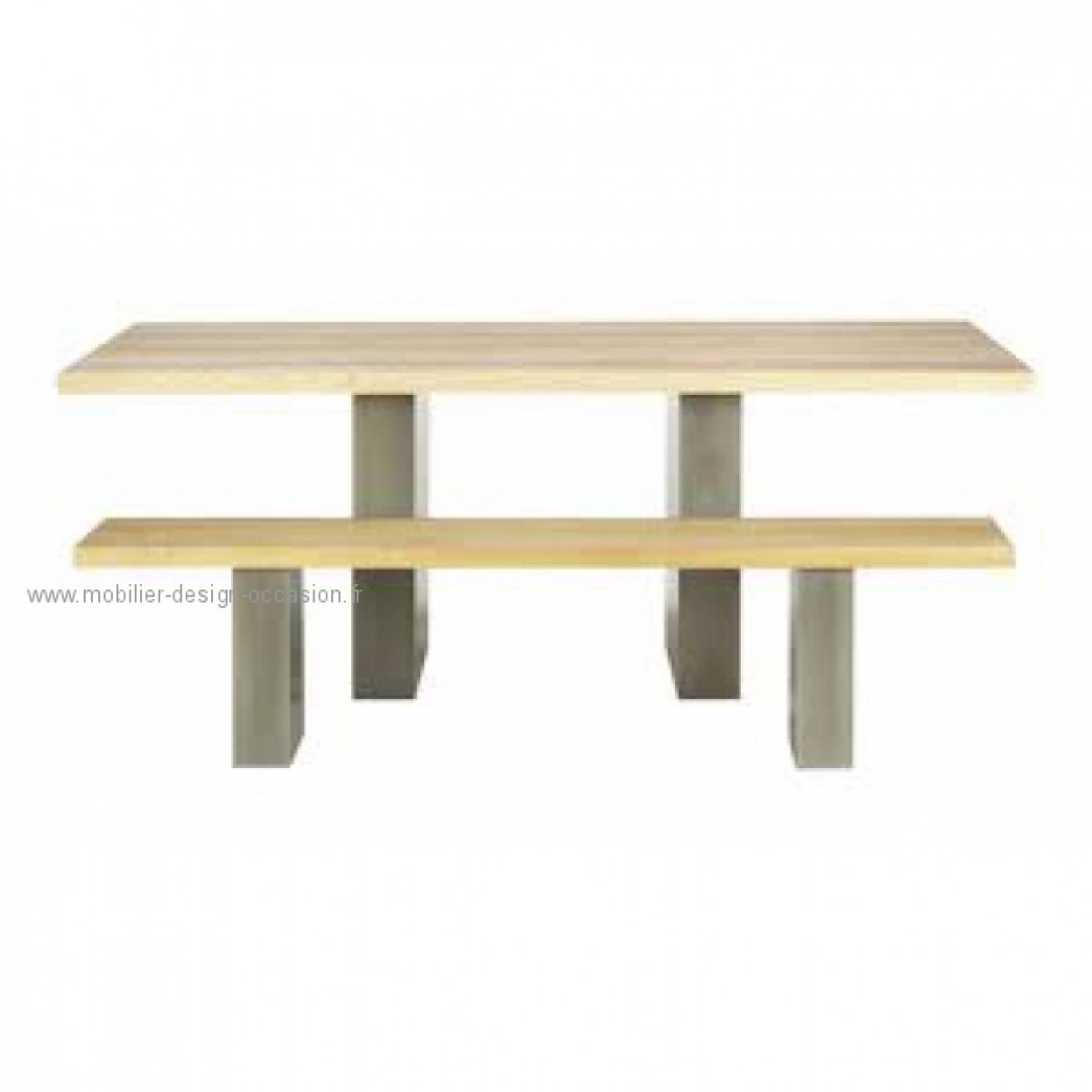 ensemble table 2 bancs lundy par terence conran conran shop terence conran. Black Bedroom Furniture Sets. Home Design Ideas