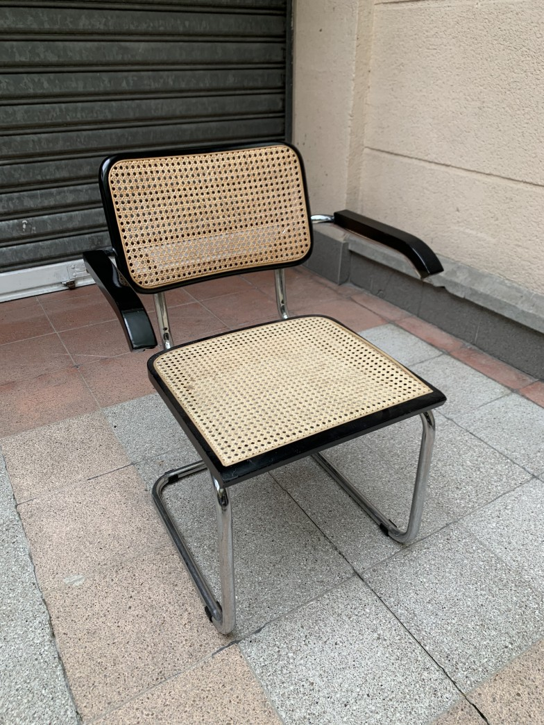 Fauteuil cannage S64V