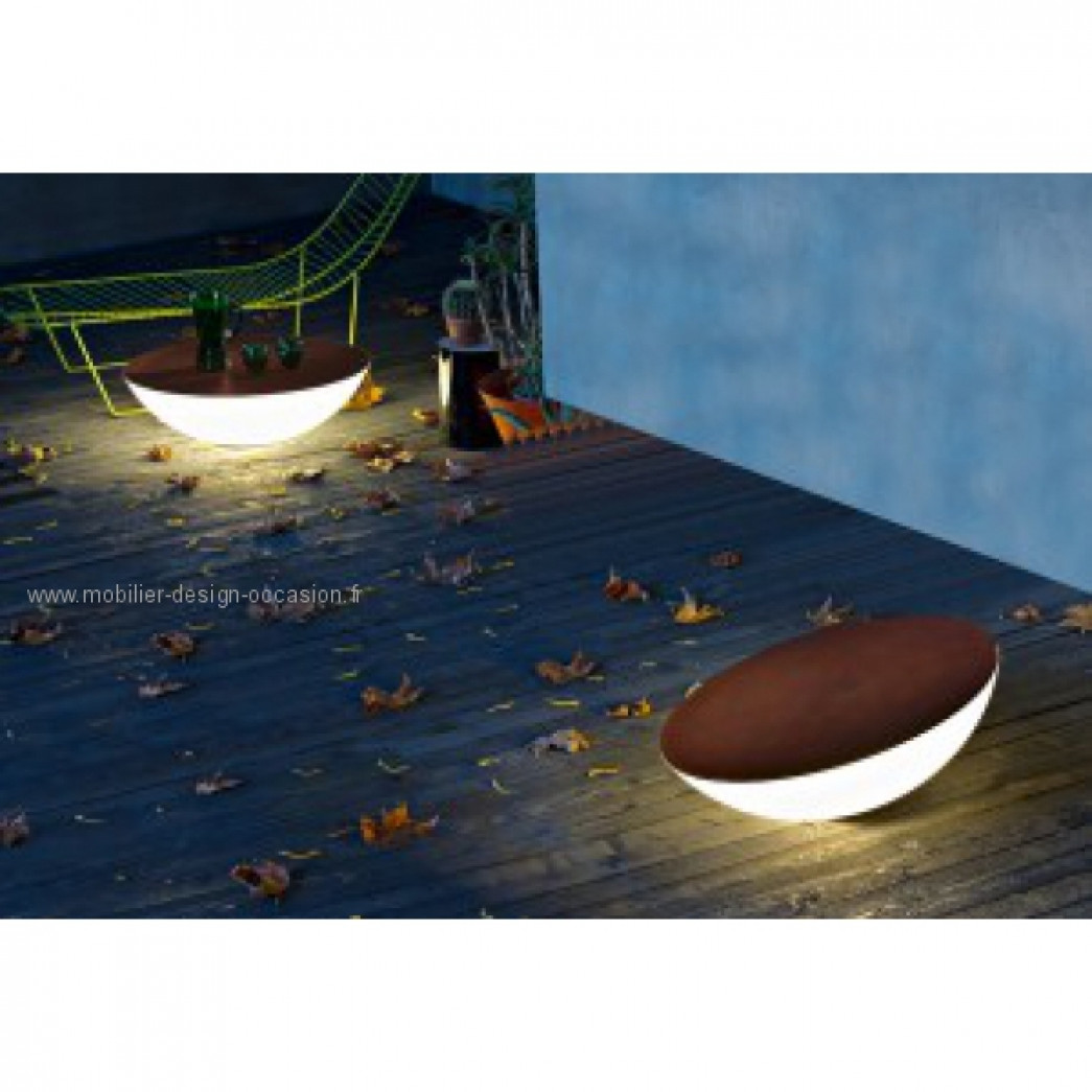 table basse lumineuse SOLAR,Foscarini
