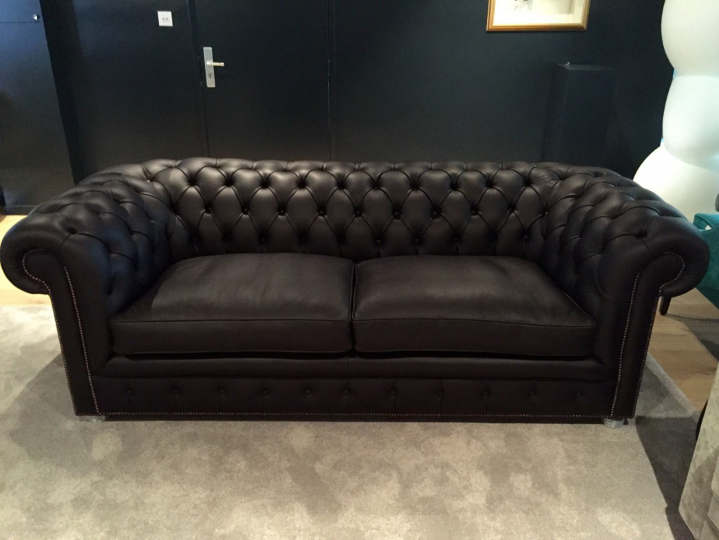Canap chesterfield for Canape chesterfield occasion