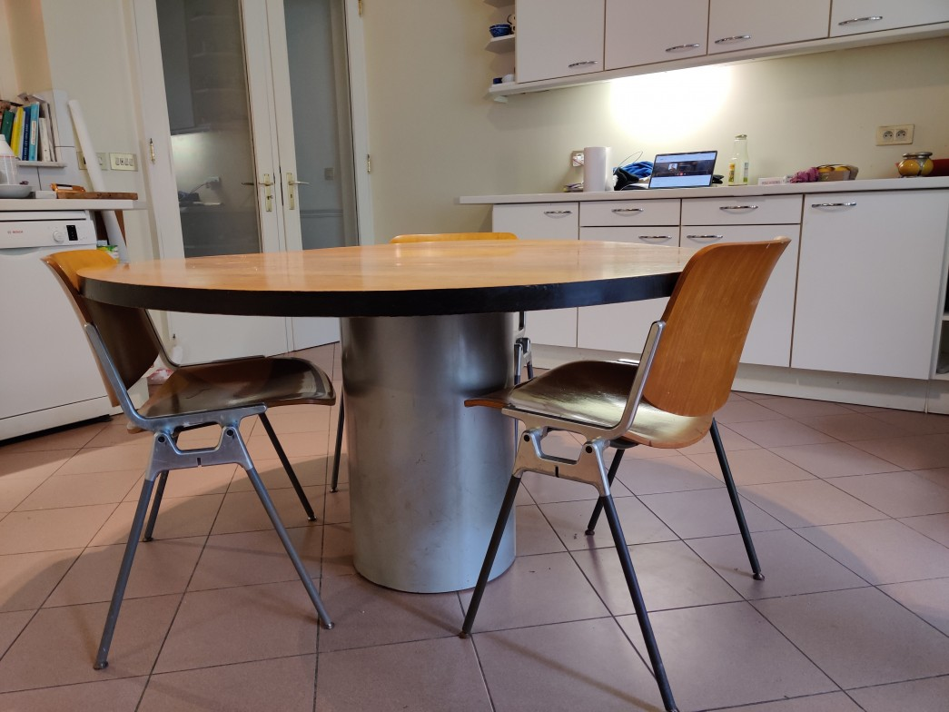 TABLE CYLINDRE,Conran Shop,Terence Conran