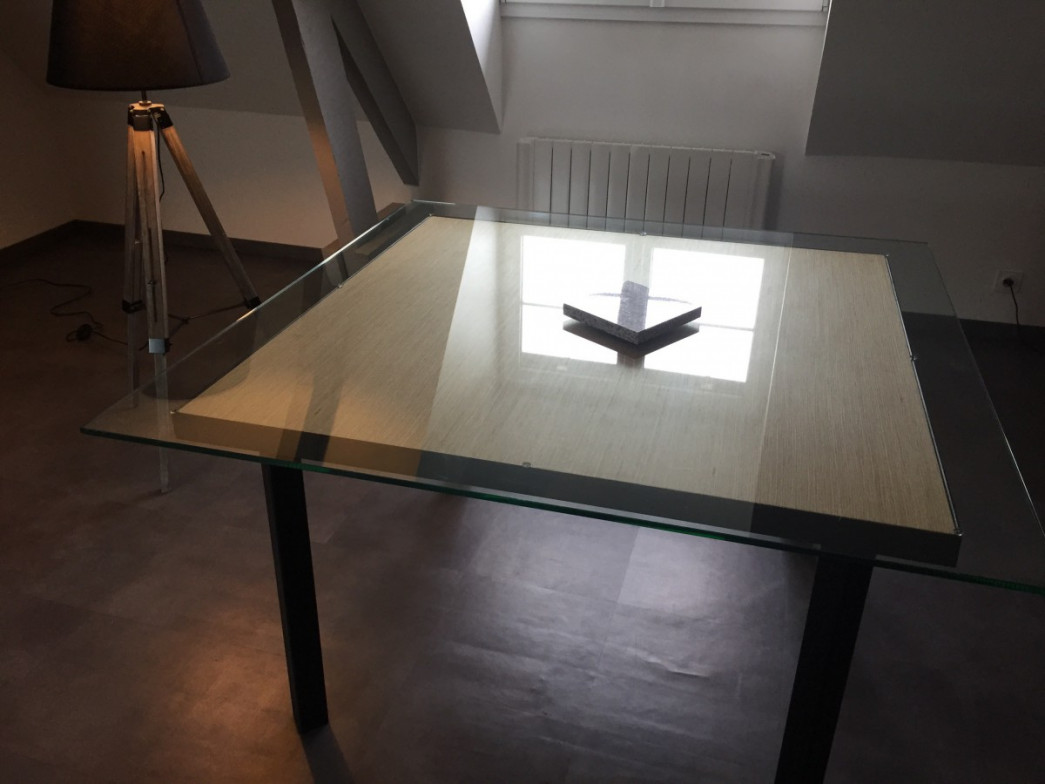 Table carr e 140x140 for Table 140x140 design