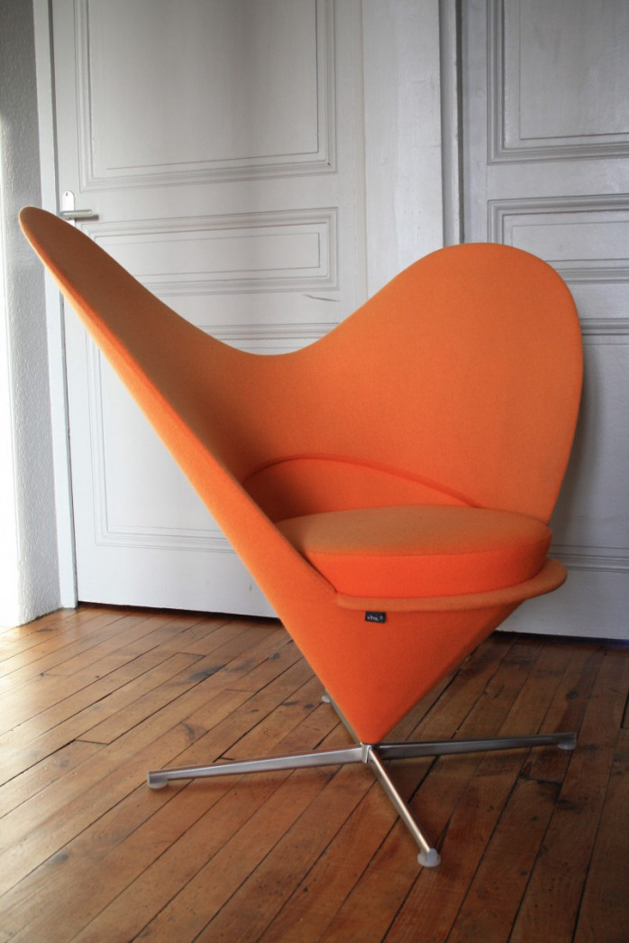 Heart Cone Chair,Vitra,Verner PANTON