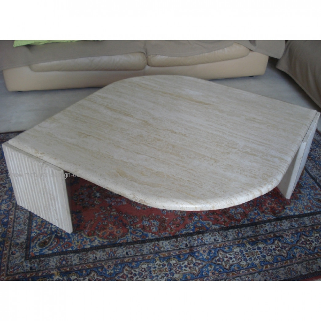 Grande table marbre contemporaine for Table en marbre