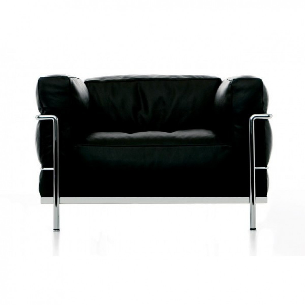 fauteuil le corbusier lc2 occasion. Black Bedroom Furniture Sets. Home Design Ideas