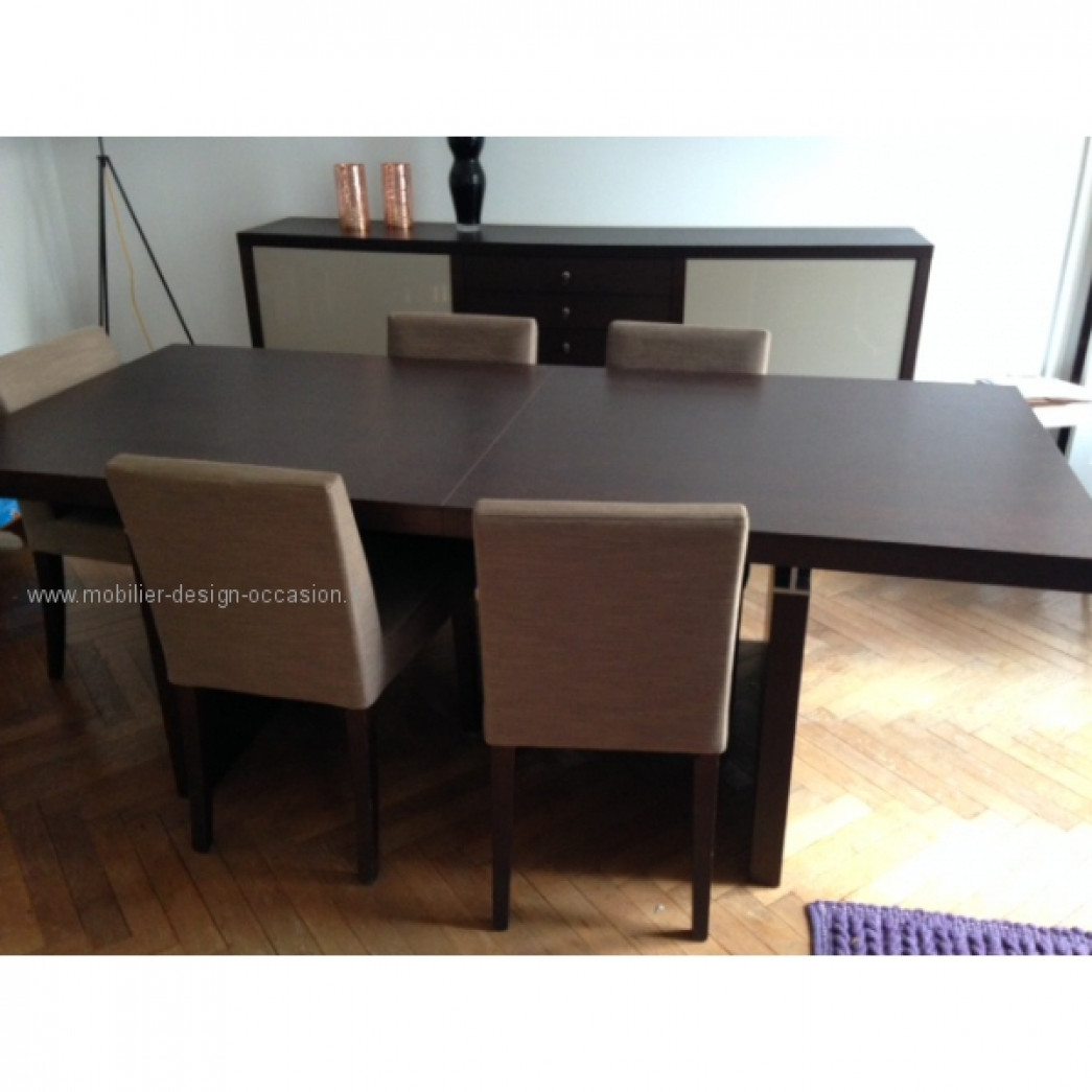 salle a manger ligne roset table chaises bahut ligne roset. Black Bedroom Furniture Sets. Home Design Ideas