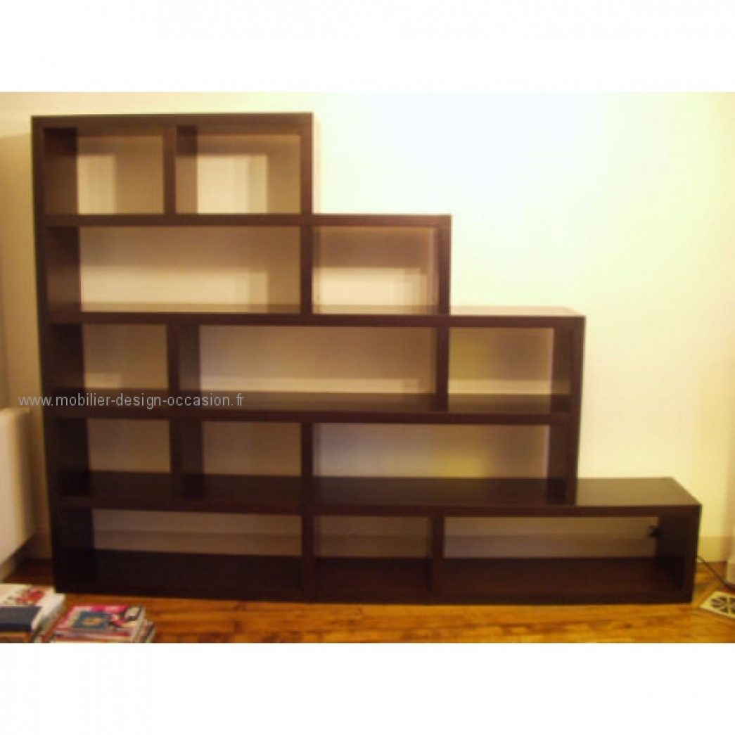 biblioth que merisier roche bobois roche bobois. Black Bedroom Furniture Sets. Home Design Ideas
