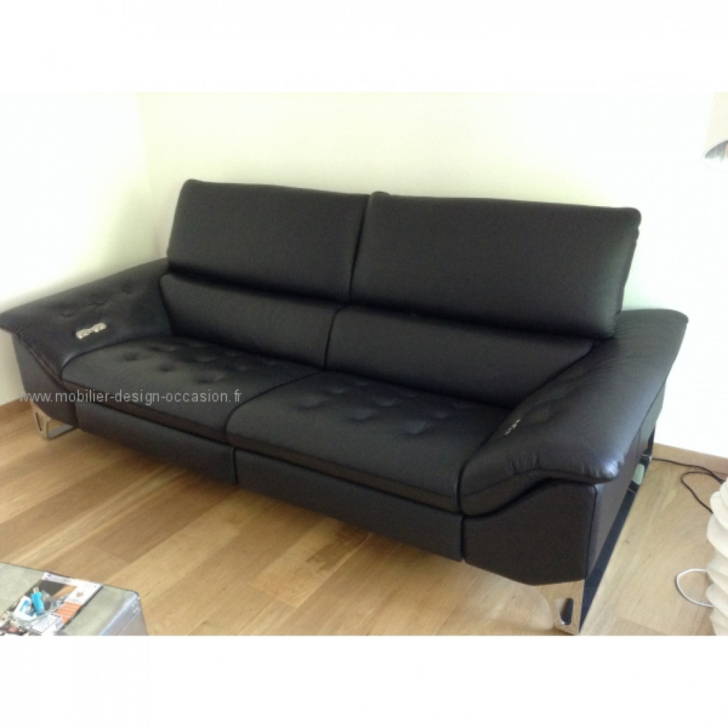 grand canap 3 places full relax neuf 50 roche bobois