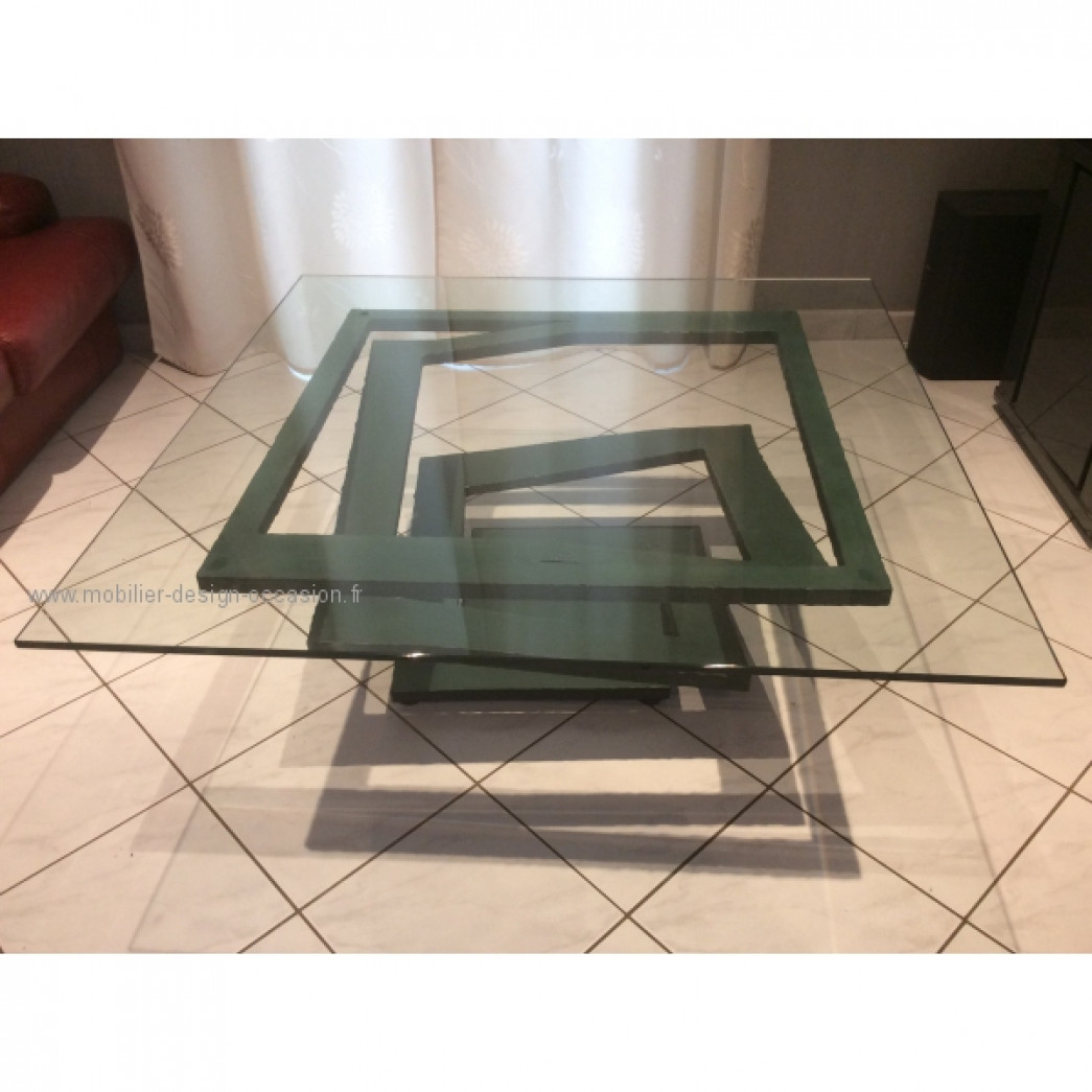 Table basse roche bobois roche bobois - Table basse verre roche bobois ...