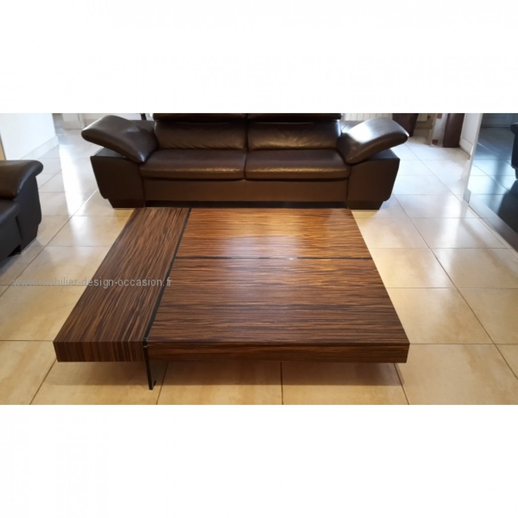 Table basse rochebobois roche bobois - Table basse en verre roche bobois ...