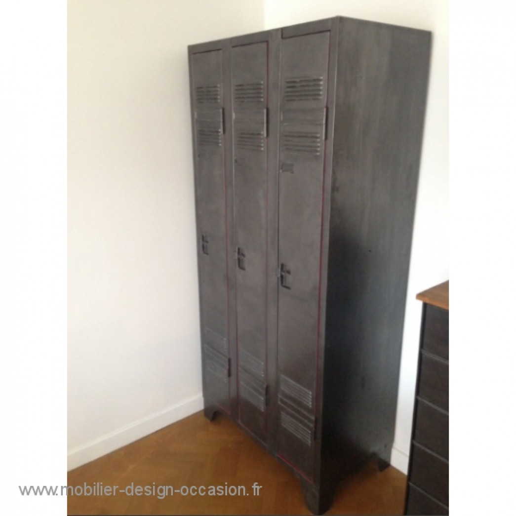 armoire en m tal impco impco. Black Bedroom Furniture Sets. Home Design Ideas