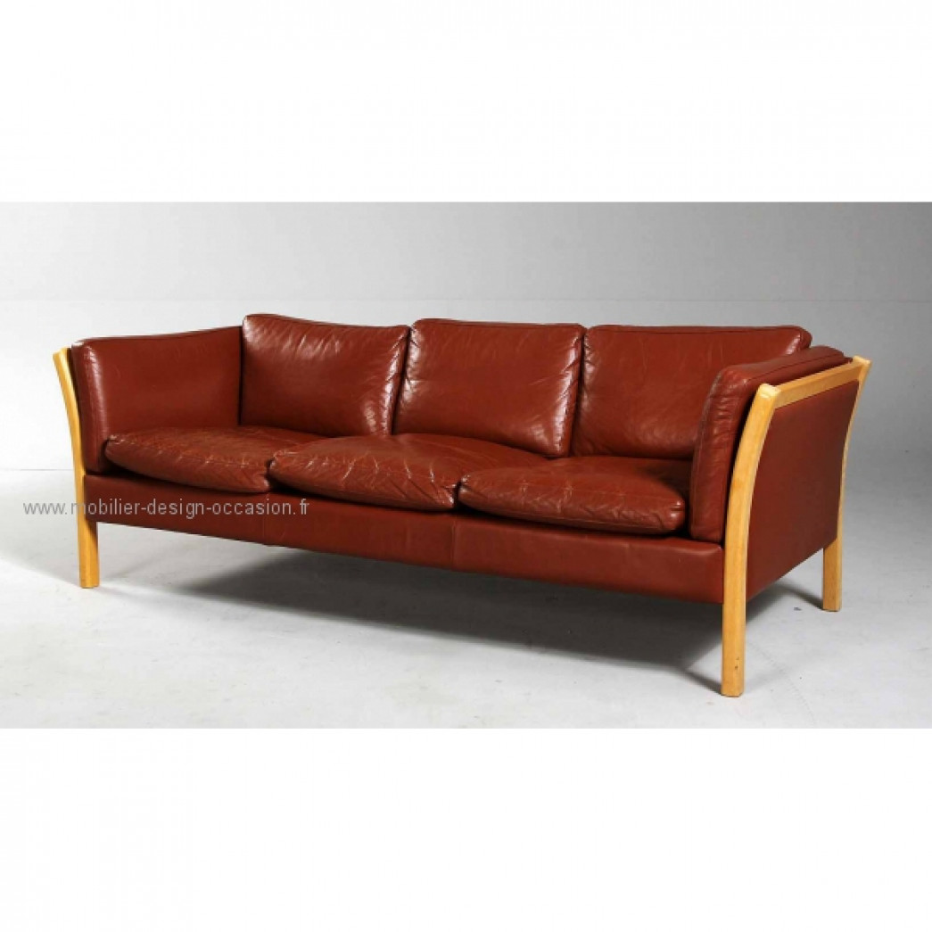 canapé cuir scandinave 3pl,Stouby,Stouby