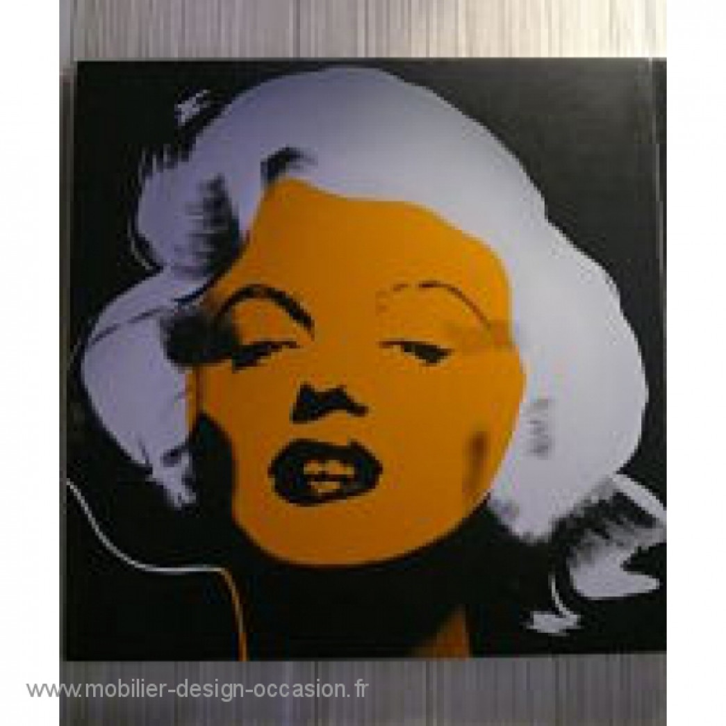 toile Marilyn style Andy Warhol,Style Andy Warhol