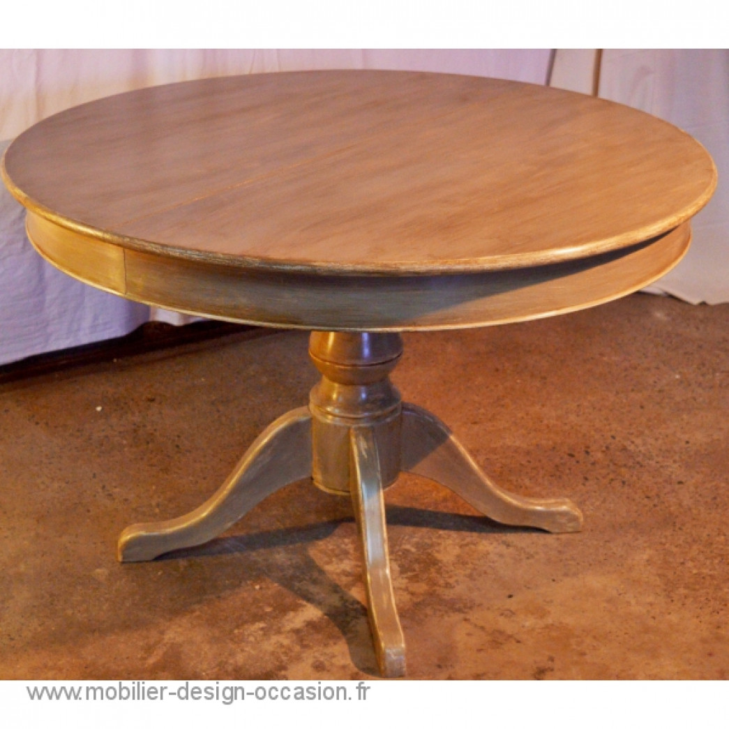 Table ronde style louis philippe - Table style louis philippe ...