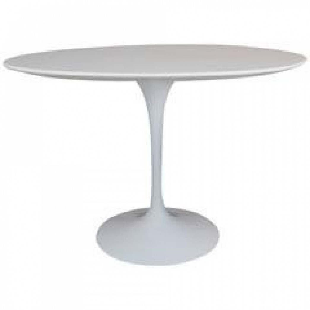 Table ronde pied tulipe conceptions de maison for Table ronde tulipe extensible