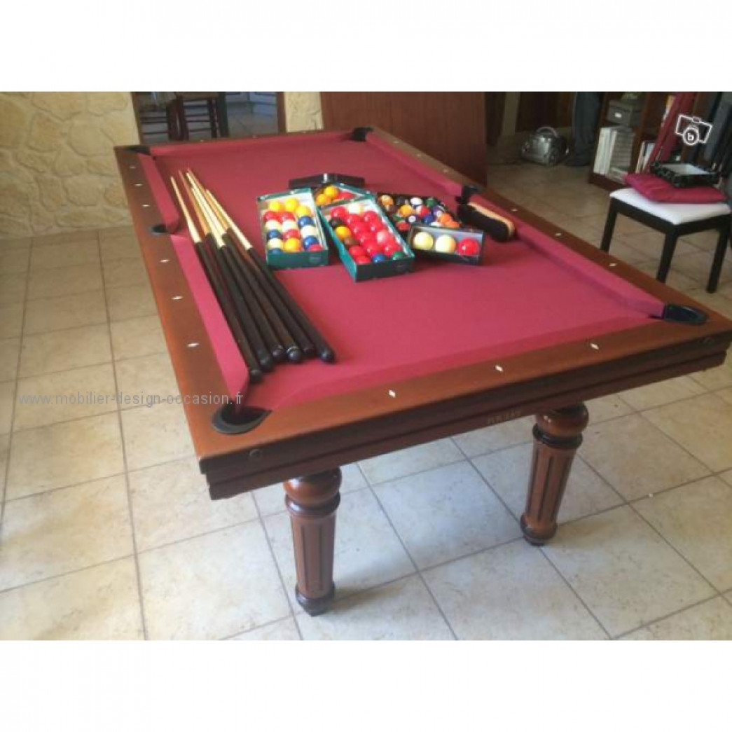 billard toulet embassadeur 7 feet plateau table toulet. Black Bedroom Furniture Sets. Home Design Ideas