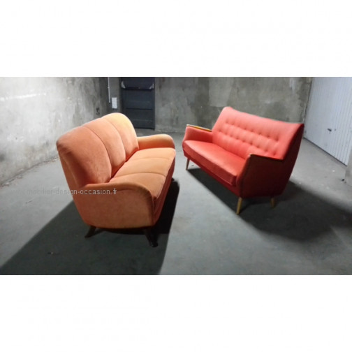 1 Fauteuil club année 50 60 styl Royere Ponti 1950(6)