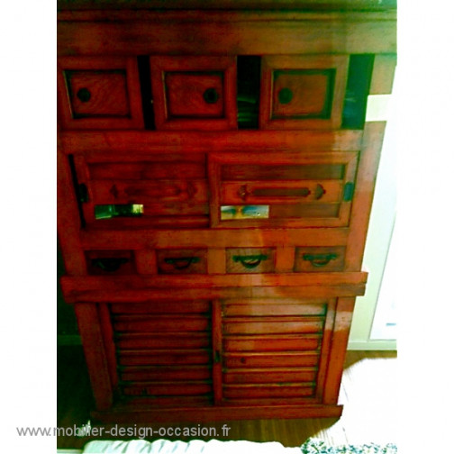 ARMOIRE CHINOISE ROUGE(1)