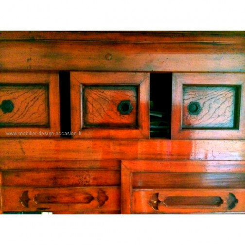 ARMOIRE CHINOISE ROUGE(2)
