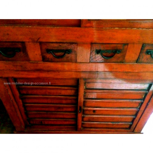 ARMOIRE CHINOISE ROUGE(3)