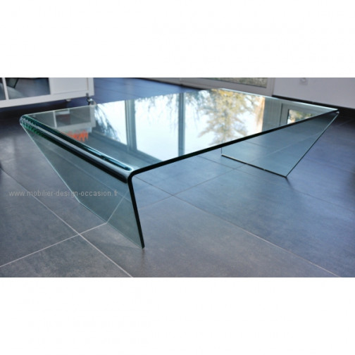 Table verre boconcept - Table bo concept occasion ...