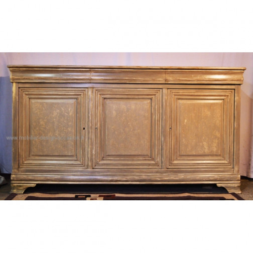 buffet style Louis Philippe 3 portes