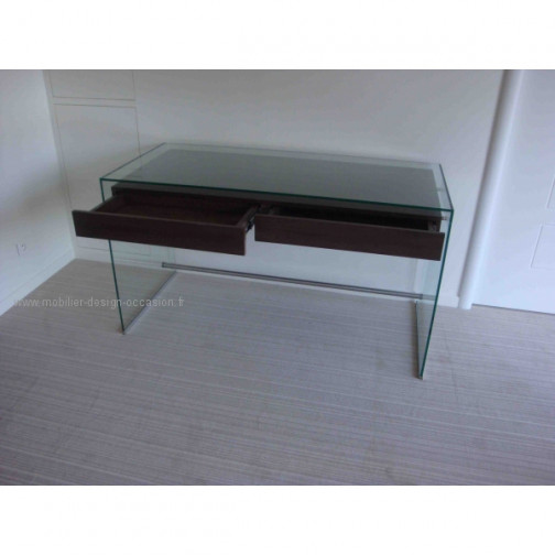 Bureau Transparent Deco