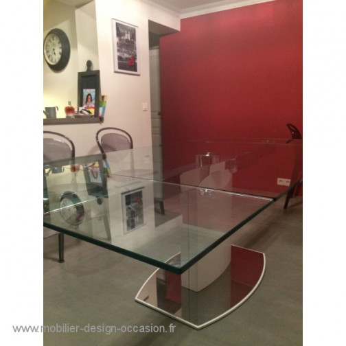 Table en verre,Calligaris(2)