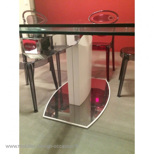 Table en verre,Calligaris(3)