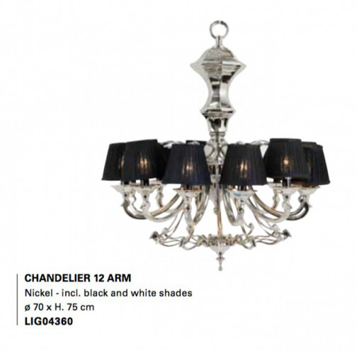 Chandelier 12 ARM