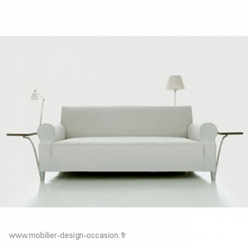 Ensemble salon Philippe Starck Lazy working sofa : canapé + fauteuil + pouf ,Cassina,Philippe STARCK(2)
