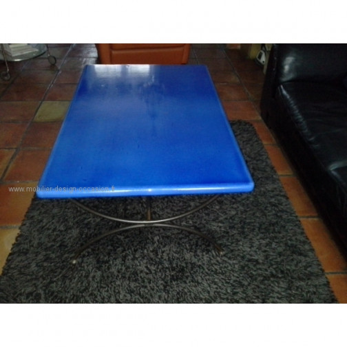table lave emaillee le cedre rouge