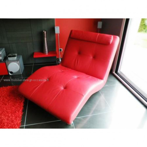chaise en cuir rouge great chaise cuir rouge chaise cuir rouge chaise visiteur assise. Black Bedroom Furniture Sets. Home Design Ideas
