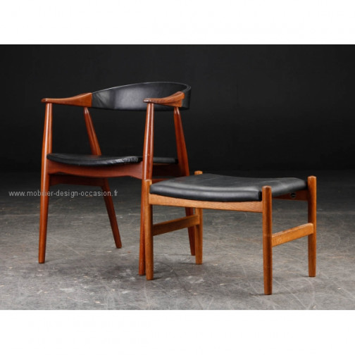 chaise scandinave vintage(3)