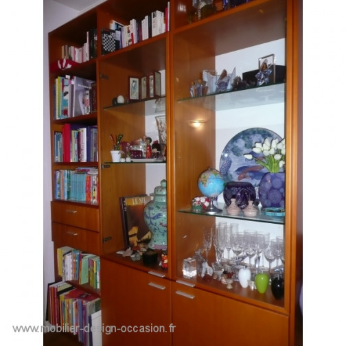 meuble biblioth que cinna. Black Bedroom Furniture Sets. Home Design Ideas