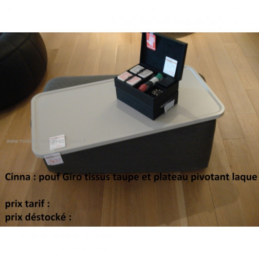 pouf/table basse GIRO