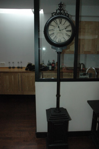 Horloge metal,La Boutique D(1)