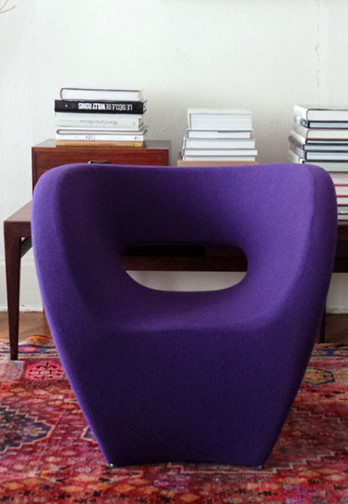 Fauteuil Victoria and Albert de Ron Arad (Moroso)