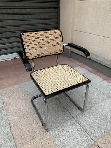 Fauteuil cannage S64V(1)