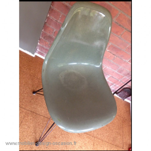 Chaise Eames 1ère édition Seafoam eiffel,Herman Miller,Charles & Ray Eames(1)