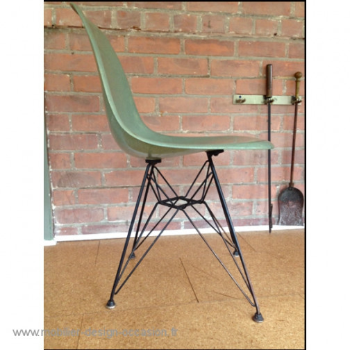 Chaise Eames 1ère édition Seafoam eiffel,Herman Miller,Charles & Ray Eames(3)
