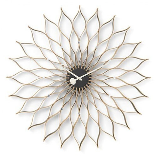 Horloge Sunflower George Nelson,Georges nelson,George Nelson
