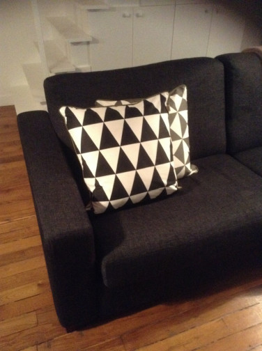 Coussin Geometry Large - Rose,Ferm Living(2)
