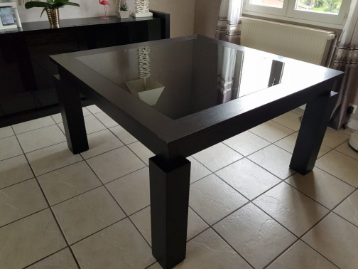 Table carrée extensible