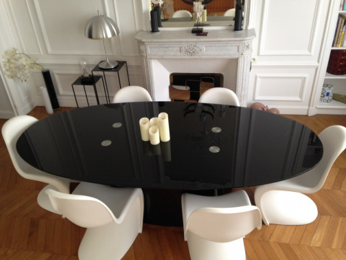 Table design en verre - MACARIA