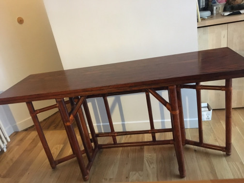 Table modulable (table, console, table basse)